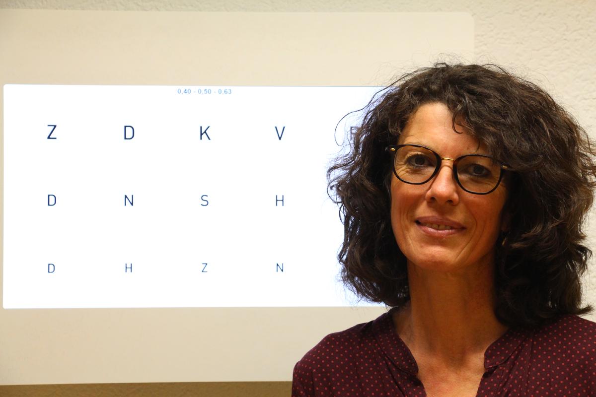 Anita Mühlematter, Uhrmacherin und Augenoptikerin
